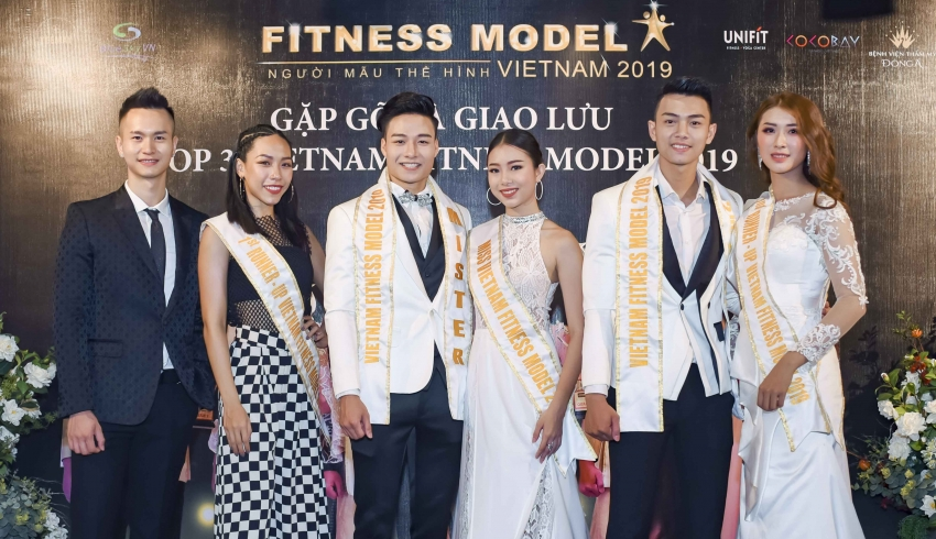 Top 3 Vietnam Fitness Model 2019 mong muốn truyền cảm hứng Fitness cho giới trẻ